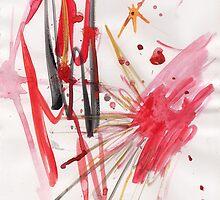 Flamenco Fire by Amanda Abella