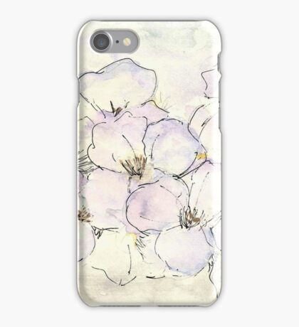 Pretty as a Pansy iPhone Case/Skin
