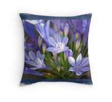 Summer Lilies Of The Nile Throw Pillow