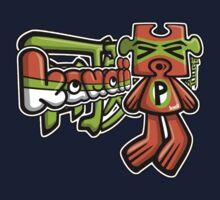 Puzzle Mascot Tag Kids Clothes