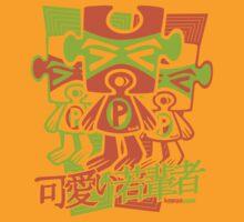 Puzzle Mascot Stencil by KawaiiPunk