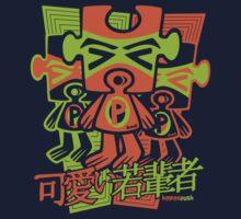 Puzzle Mascot Stencil Kids Clothes
