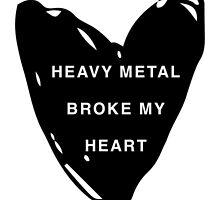 Heavy metal broke my heart by permanentjetlag