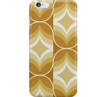 70's Retro Tan iPhone Case/Skin