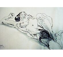 Thuy reclining Photographic Print