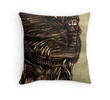 Guardian Shedu Of Assyria Throw Pillow