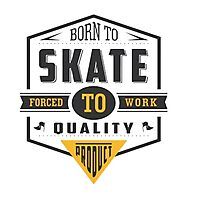 Born To Skate Photographic Print