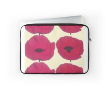 Red Poppies for Pops Laptop Sleeve