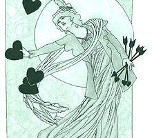 The Black Arrow/ Four Black Arrows for Four Black Hearts by redqueenself