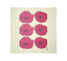 Red Poppies for Pops Scarf