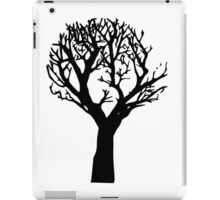Beautiful silhouette of a tree iPad Case/Skin