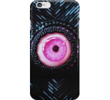 Beaded pink eye iPhone Case/Skin