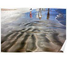 Walking in the Seashore... Poster