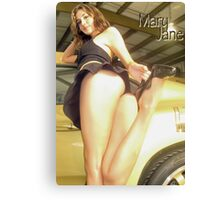 Mary Jane Pinup Canvas Print
