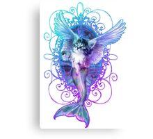 MermaidCaterCorn Canvas Print