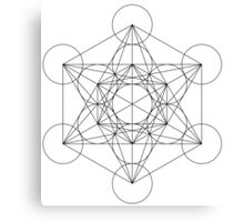 Flower of life - line drawing Canvas Print