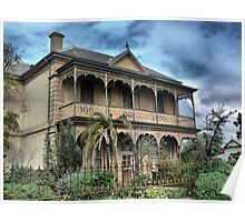 """On The Calder - Tivey's House """"Nimmitabel"""" Poster"""