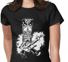 Tiki Musik Womens Fitted T-Shirt