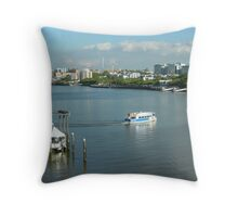Brisbane Riverside Throw Pillow