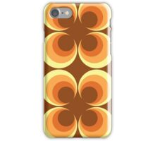 70's Retro 2 Starburst iPhone Case/Skin