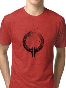 Broken Circle - Black Tri-blend T-Shirt