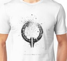 Broken Circle - Black Unisex T-Shirt