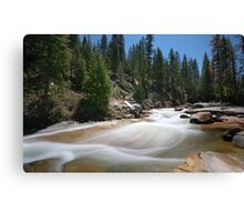 Illilouette Creek Canvas Print