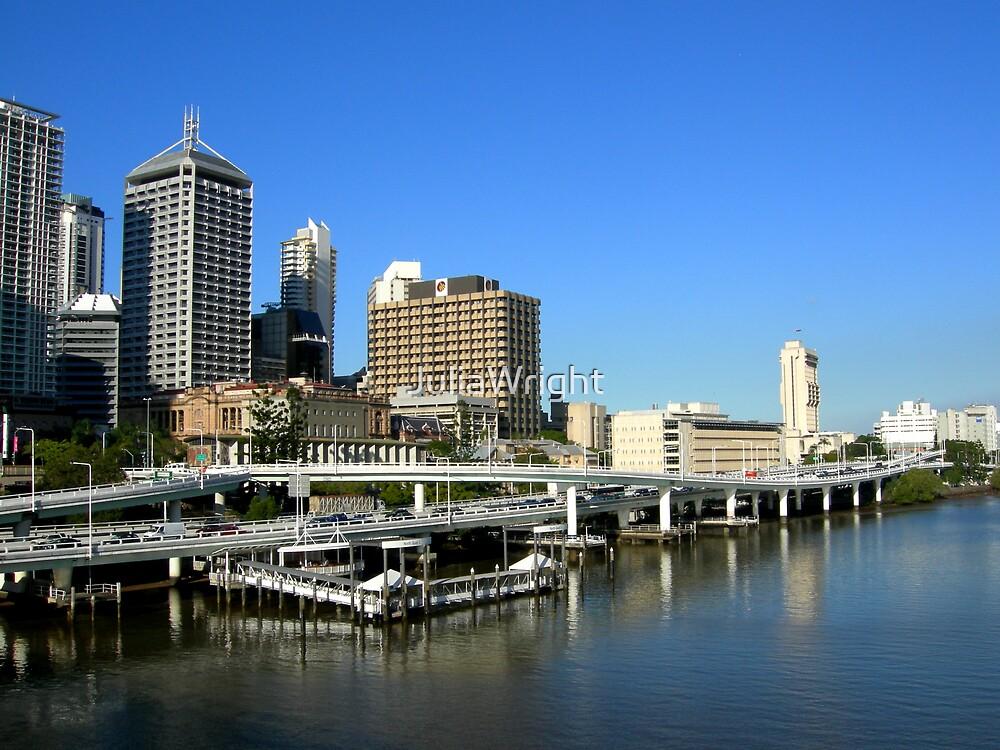 Brisbane Riverside by JuliaWright
