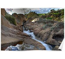 Reedy Creek Waterfalls Poster