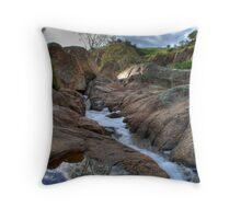 Reedy Creek Waterfalls Throw Pillow