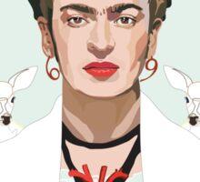 Frida (Light) Sticker