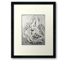 Faith Reclining  Framed Print