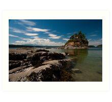 Wallace Island Provincial Marine Park Art Print