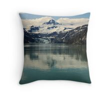 Johns Hopkins Glacier Throw Pillow
