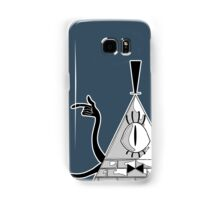 Space Triangle Bill Cipher Samsung Galaxy Case/Skin