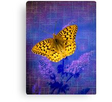 Blazing Bright Butterfly Canvas Print