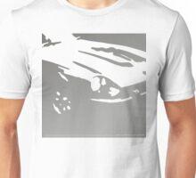 Datsun 240Z Detail - Gray on white Unisex T-Shirt