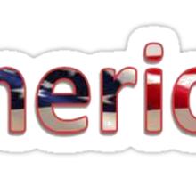 I Am The American Dream Sticker
