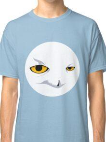 Snowy Owl Circle Classic T-Shirt
