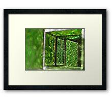The Green Room Framed Print