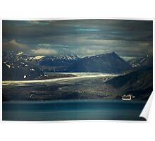 Grand Pacific Glacier Poster