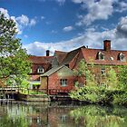 Flatford Mill by SimplyScene
