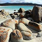 Beach Boulders by Tim Beasley