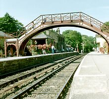 Goathland Station - North Yorkshire by Edward Denyer