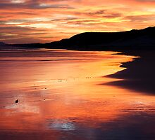 Maitlands Mouth Sunset by rubu1304