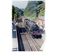 Black 5 arrives at Goathland Poster