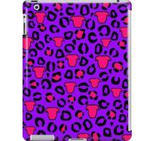 Leopard Pit Bull Print Purple iPad Case/Skin