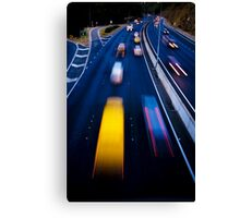 Life in the fast lane..... Canvas Print