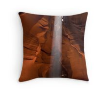 Beams From Above Throw Pillow