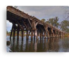 Bridge on Goulburn Canvas Print